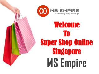 Online Store in Singapore - MS Empire