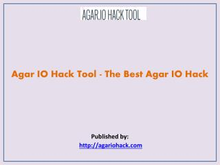 Agar IO Hack Tool - The Best Agar IO Hack