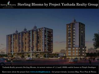 Residential Apartments in Sterling Blooms Pimple Saudagar Annexe Pune