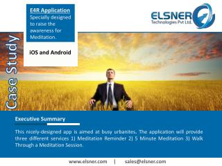 Case Study - E4R Application From Elsner.com