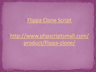 Flippa Clone, Flippa Script