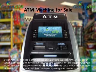 ATM Machine Purchase in New Jursey