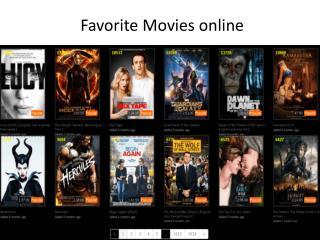 Favorite Movies Online