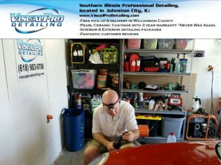 Visual Pro Detailing offer Interior & Exterior detailing packages