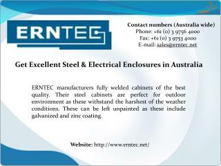 Steel & Electrical Enclosures Manufacturers in Australia