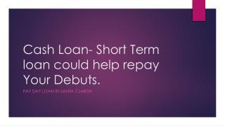 payday loans santa clarita