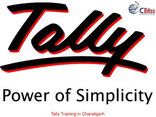 Tally course in Chandigarh