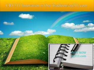CRJ 311 Innovation is Our Tradition/crj311.com