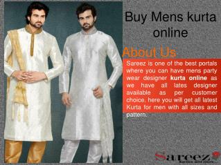 Buy party wear kurta online