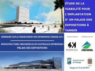 TUDE DE LA VIABILIT  POUR L IMPLANTATION D  UN PALAIS DES EXPOSITIONS   TANGER