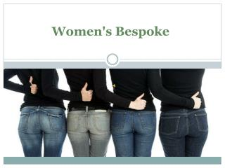 Womens Bespoke Clothing