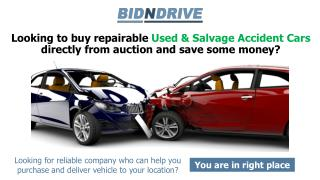 Buy Cheap wrecked cars for sale