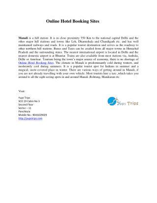 online hotel booking sites in shimla
