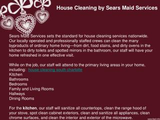 house cleaning Pineville
