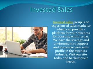 Sales Agencies