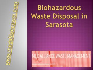 Biohazardous Waste Disposal in Sarasota