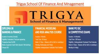 Trigya school of Finance and Management