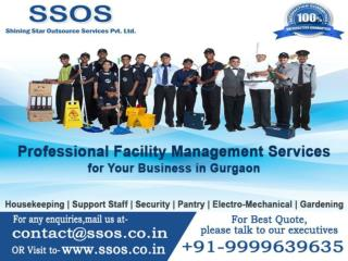 Facility management company in gurgaon SSOS  91-9999639635