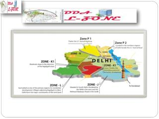 DDA L ZONE - All information about Dwarka Smart City Projects