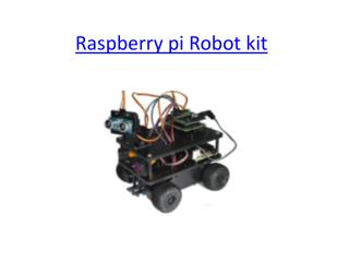 Raspberry Pi Robot Kit India – Robomart