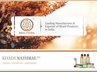 Khadi Natural - Best Handmade Herbal Products