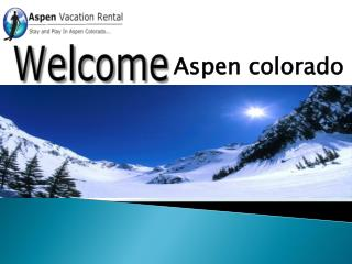 aspen condos to rent