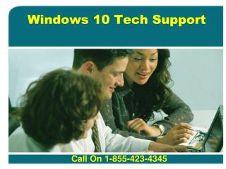 Windows 10 Tech Support