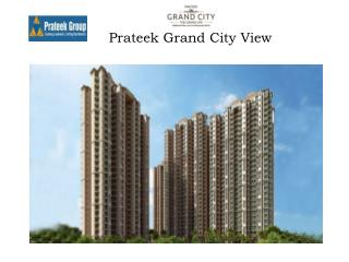 prateek group grand city buy 2 BHK flat in discount plan