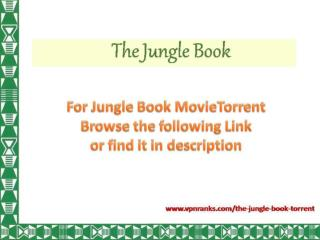 The Jungle Book Torrent