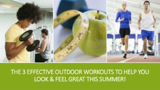 3 Effective outdoor workouts