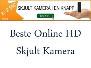 Beste Online HD  Skjult Kamera
