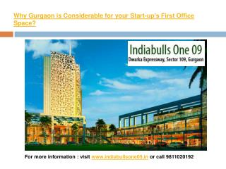 Why Gurgaon is Considerable for your Start-up's First Office Space?