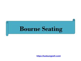 Bourne Seating