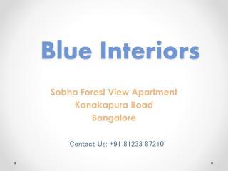 Interiors blue