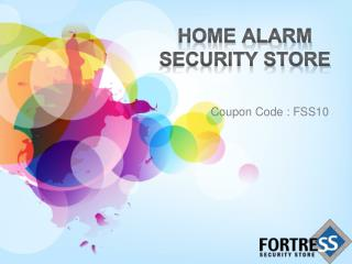 Home alarm security system Fortress Security Store