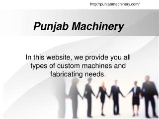 PunjabMachinery.com-Slotting machine in Batala