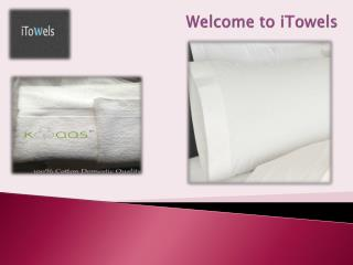 Buy Best Hotel Sheets and Towels