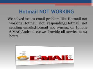 1 844 202 5571 Hotmail Password Recovery