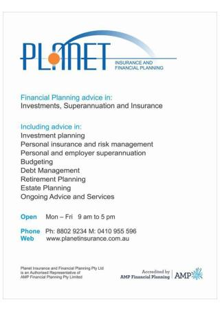 Planet Insurance and Financial Planning Services