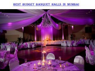 Best Budget Banquet halls in Mumbai