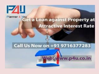 Renowned Provider for Loan against Property Call 9716377283