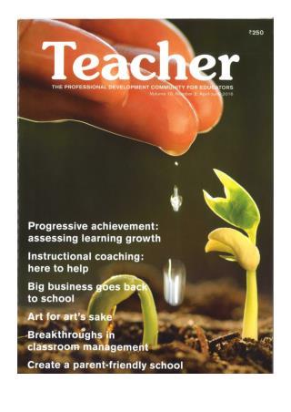 VKE features in the 'Teacher's Magazine'