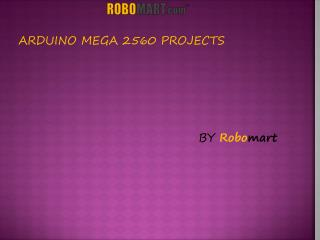 Arduino Mega 2560 Projects
