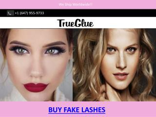 BUY FAKE LASHES - True Glue