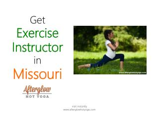 Exercise Instructor in Missouri