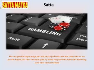 Satta Game provider | Simple Satta