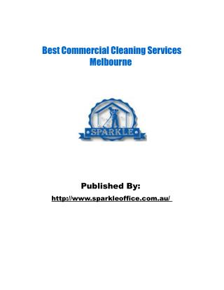 Sparkle Cleaning Services