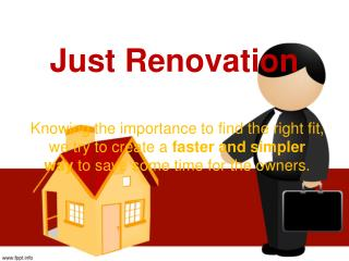 Just Renovation