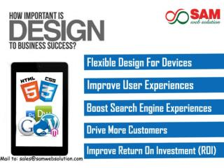 Responsive web designing services- Professional web design services provider