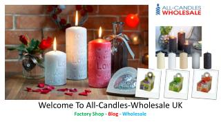 All Candles Wholesale